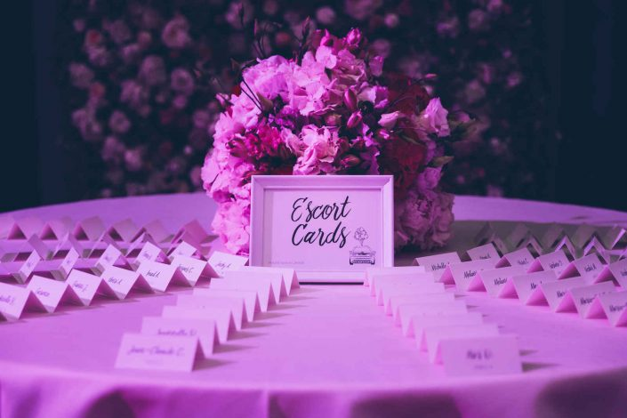 Table de mariage Label' Emotion Paris