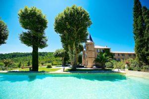Château de Robernier piscine
